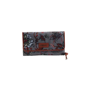 Oilily Large Wallet anthracite-silver