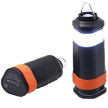 Freewear camping ledlampa powerbank